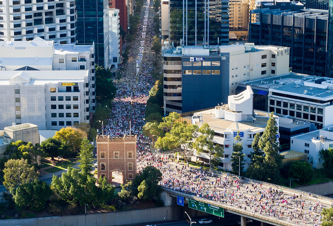 Perth shone bright for the 2018 Chevron City to Surf for Activ